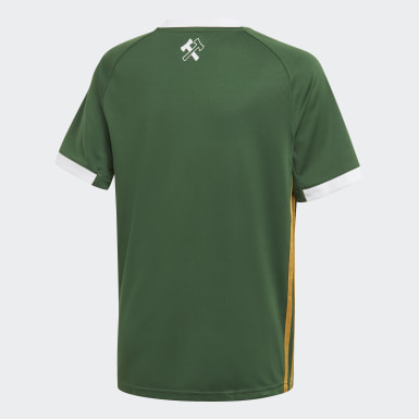 Youth Soccer Green Portland Timbers Home Jersey