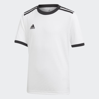 Kids Training White Tiro Jersey