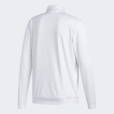 Sweat-shirt Classic Club 1/4 Zip blanc Hommes Golf