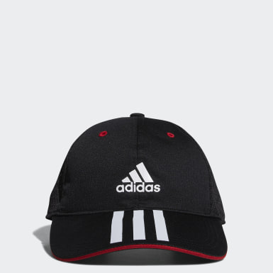 Kids Training Black Mesh Cap