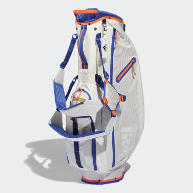 Golf White Sports Lightweight Standable Caddy Bag