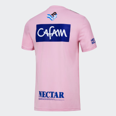 Camiseta Millonarios adidas 70 años Rosa Hombre Fútbol
