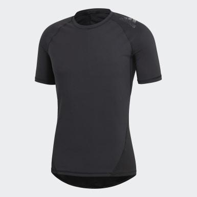 ผู้ชาย กีฬาฤดูหนาว สีดำ เสื้อยืด Alphaskin Sport