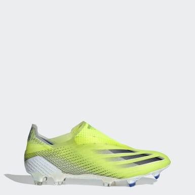 Voetbal geel X Ghosted+ Firm Ground Voetbalschoenen