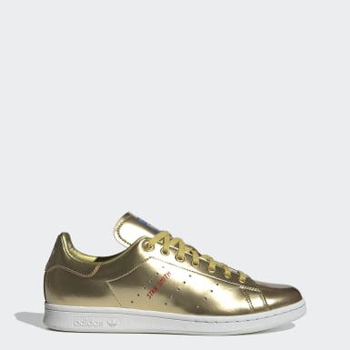 Men Originals Gold Stan Smith Shoes