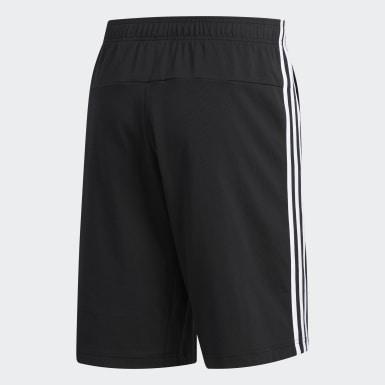 Shorts 3 Rayas Negro Hombre Training