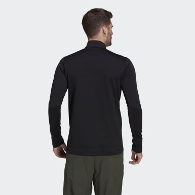 Herr TERREX Svart Terrex Everyhike Half-Zip Fleece Jacket