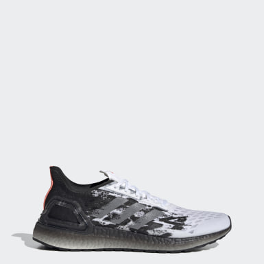 Men's Running White Ultraboost PB Shoes