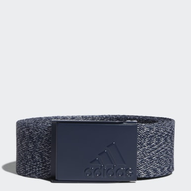 Men Golf Blue Heathered Web Belt