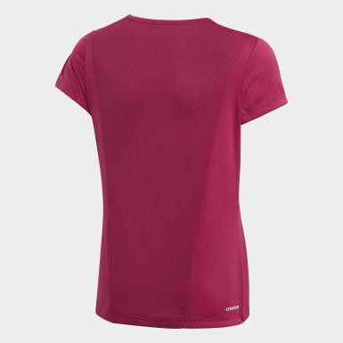 Camiseta Cardio Morado Niña Training