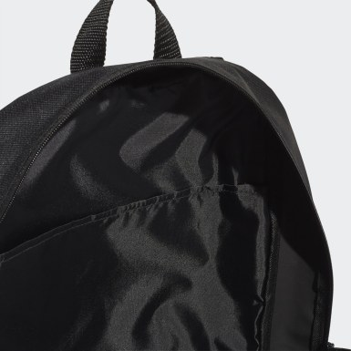 Athletics Black Parkhood 3-Stripes Backpack