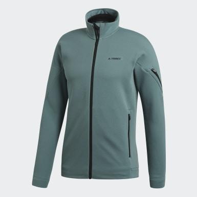 Men TERREX Green Climaheat Ultimate Fleece Jacket