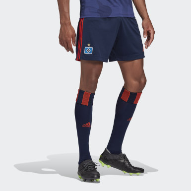Football Blue Hamburger SV 20/21 Away Shorts