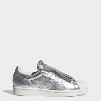 Dames Originals Zilver Superstar FR Schoenen