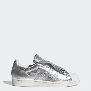 Frauen Originals Superstar FR Schuh Silber