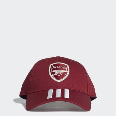 Futbal Burgundy Šiltovka Arsenal Baseball