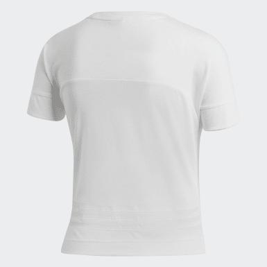 Camiseta ID Branco Mulher Athletics