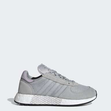 Women Originals Grey Marathon Tech Shoes