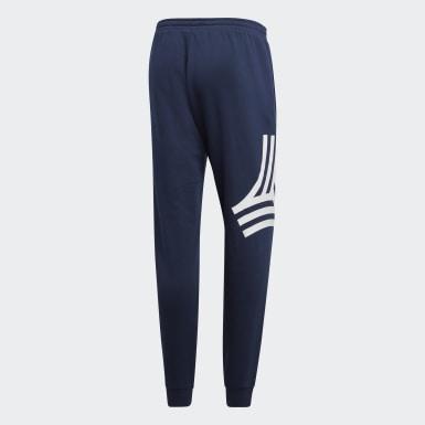 Männer Fußball TAN Graphic Jogginghose Blau