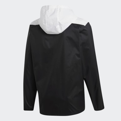 Men Football Black Tiro Windbreaker