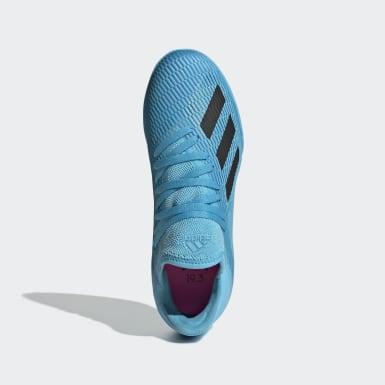 Kids Football Turquoise X 19.3 Indoor Boots