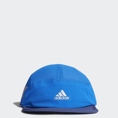 Boné Corrida Refletivo AEROREADY (UNISEX) Azul Running