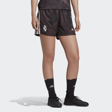 Dames Voetbal Zwart Real Madrid Human Race Short