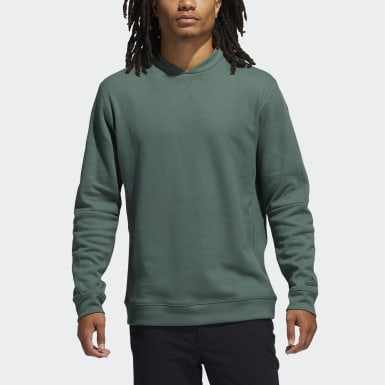 Men Golf Green Go-To Crewneck Sweatshirt
