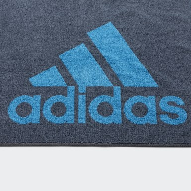 Swimming Blue adidas Towel Small