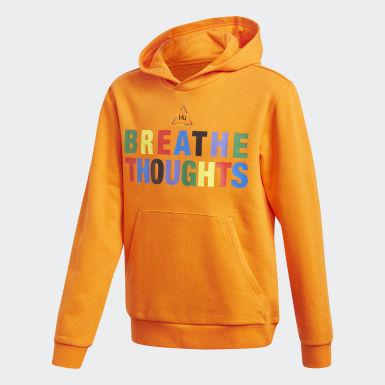 Youth 8-16 Years Originals Orange Pharrell Williams Hoodie