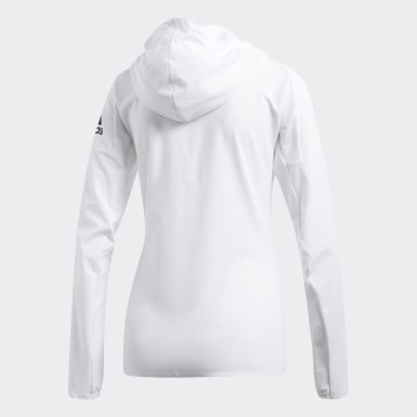 Women Running White adidas Z.N.E. Jacket