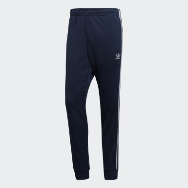 Men Originals Blue SST Track Pants