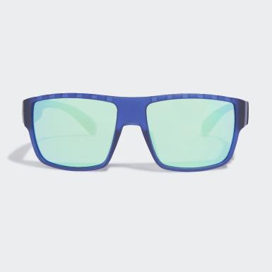 Padel Tenis modrá Sluneční brýle SP0006 Matt Blue Injected Sport