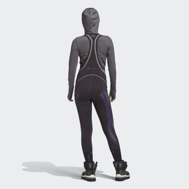 Women's adidas by Stella McCartney Black adidas by Stella McCartney Extreme Bib Tights