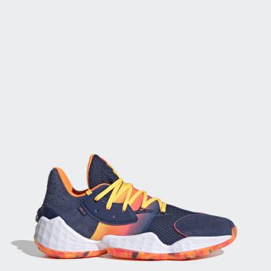Chaussure Harden Vol. 4 Bleu Basketball