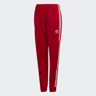 Kids Originals Red SST Track Pants