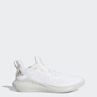 Running White Alphabounce+ Shoes