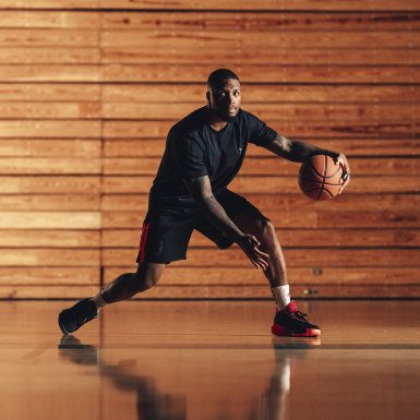 Basketbal čierna Tenisky Dame7