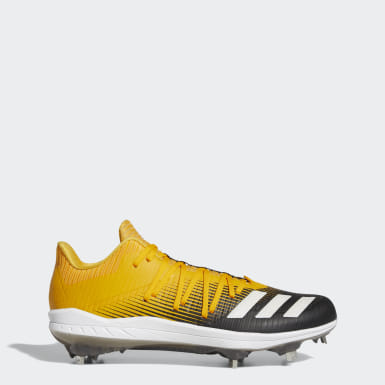 Men's Baseball Yellow Adizero Afterburner 6 Cleats