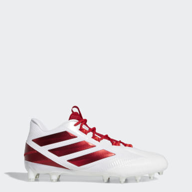 Men's Football White Freak Carbon Low Cleats