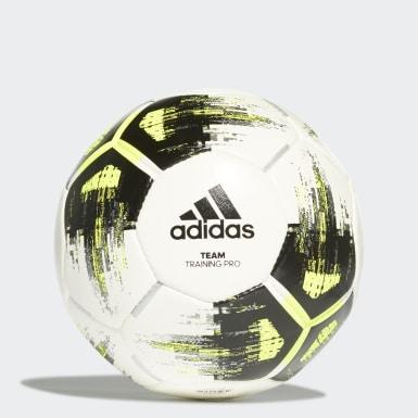 Fodbold Hvid Team Training Pro bold