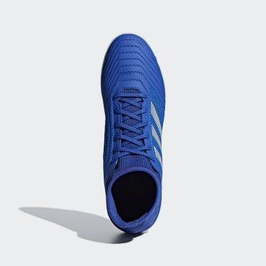 Chuteira Predator Tango 19.3 Society Azul Futebol