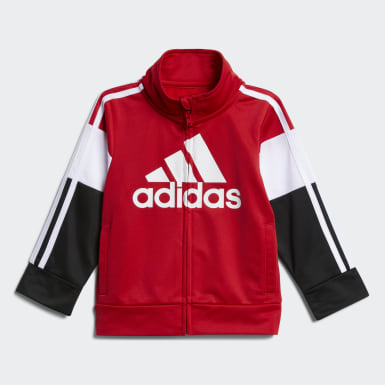 Infant & Toddler Training Red Bold Pack Jacket Set