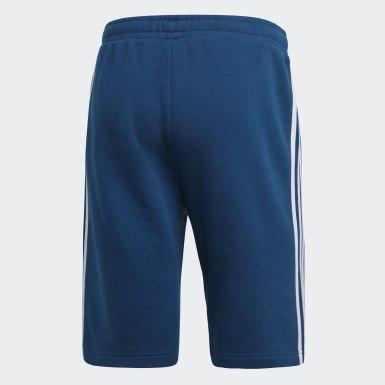 Heren Originals Blauw 3-Stripes Short