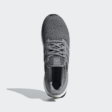 Running Grey Ultraboost Shoes