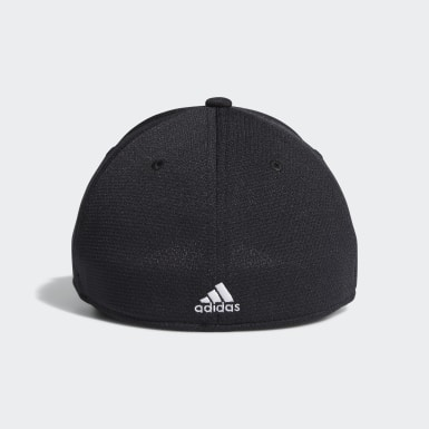 Men Training Black Release 2 Stretch-Fit Cap