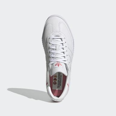 Swarovski® SAMBAROSE Shoes Bialy