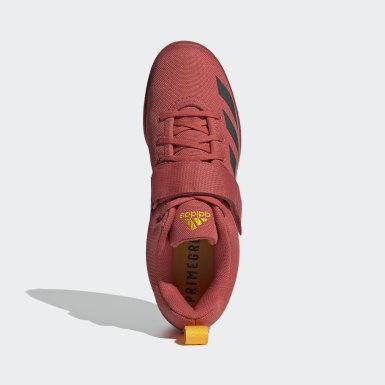 Chaussure d'haltérophilie Powerlift 4 Rouge Haltérophilie