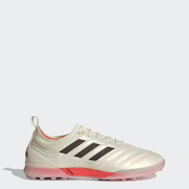 Football Beige Copa 19.1 Turf Boots