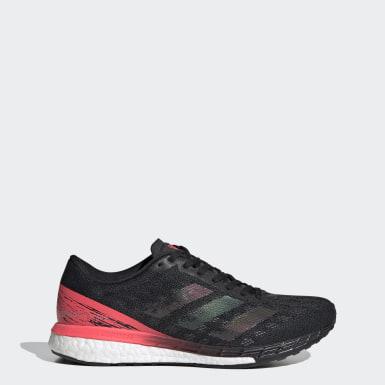 ผู้หญิง วิ่ง สีดำ รองเท้า Adizero Boston 9